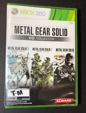 Metal Gear Solid HD Collection (XBOX 360) NEW