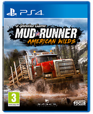 & Spintires Mudrunner American Wilds Sony PlayStation 4 Ps4 Game