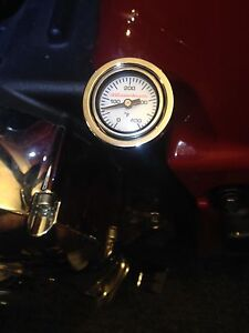 Indian Chief 2014-2021 Engine Oil Temperature gauge Analog