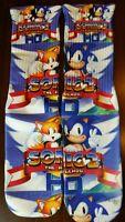 Custom Sonic the hedgehog HD socks  gamma laney oreo