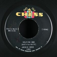 JACKIE ROSS - Selfish One - 1964 US SP 45 tours