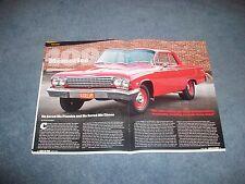 "1962 Chevy Bel Air 2-Door Sedan Article ""409 Memories"" 409hp 4spd"