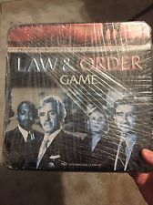 LAW & ORDER Detective GAME Sealed New in Tin