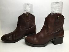 VTG WOMENS GIANNI BINI CASUAL BROWN BOOTS SIZE 6.5 M