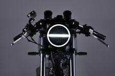 DAYTONA LED-Scheinwerfer 5 3/4 Zoll NEOVINTAGE, schwarz für Cafe Racer