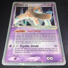 POKEMON: 1X DEOXYS EX DEFENSE 99/107 - ULTRA RARE HOLO CARD - EX DEOXYS NM