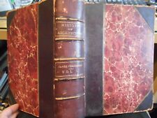 History of Architecture Vol II by Fergusson HC from 1883 Hugh Book Illustrated