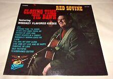 Red Sovine Closing Time 'Til Dawn Sealed LP 1969 Starday Whiskey Flavored Kisses