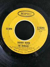 """The Tremeloes - Suddenly Winter/ Suddenly You Love Me - 7"""" Vinyl 45 RPM"""