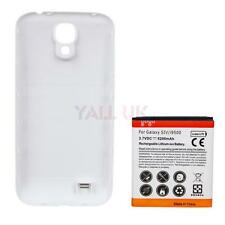 Replacement Extended Battery for Samsung Galaxy S4 i9500 6200mah + Back Cover