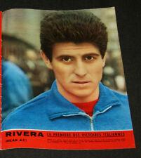 football calcio poster Giani Rivera Milan AC Italia winner champions cup 1963