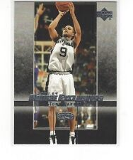 2003-04 UPPER DECK ROOKIE EXCLUSIVES BASKETBALL TONY PARKER #32 - SA SPURS