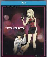 Noir: The Complete Series - Anime Classics (Blu-ray Disc, 2015, 4-Disc Set)