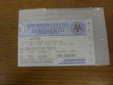 11/11/1995 Ticket: Leicester City v Watford. Thanks for viewing this item, buy w