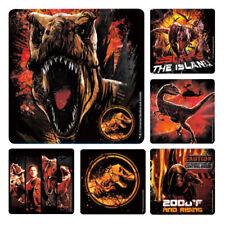 "25 Jurassic World 2 Fallen Kingdom Stickers, Assorted 2.5"" x 2.5"" each"