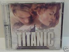 """TITANIC """"COLONNA SONORA""""  CD"""