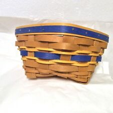 Blue Gold Twist Basket Protector West Virginia WV Notre Dame ND March Madness