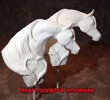 Arabian Horse Head Wedding Cake Topper SINGLE HORSE HEAD