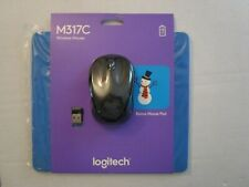 NEW Logitech M317c Wireless Optical Mouse with mouse pad