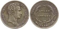 Niederländisch Ostindien, Wilhelm I., 1/4 Gulden 1840 Utrecht