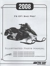 2008 ARCTIC CAT F6 EFI SNO PRO SNOWMOBILE PARTS MANUAL  2257-979  (947)