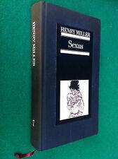 Henry MILLER - SEXUS , Ed. Euroclub Collana Erotica (1984)