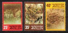 Dutch Antilles - 1977 Indian rock paintings Mi. 326-28 MNH