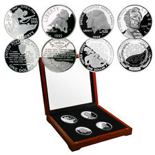Words of Inspiration Silver Proof 4 Piece Commemorative Set with Display Box