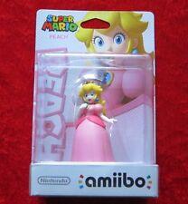 Peach amiibo personaje, Super Mario Collection, nuevo-en su embalaje original