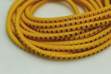 2000pcs cable marker,wire marker,cable diameter from 1.5-3.2mm