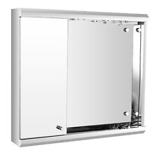 Led Lights Bathroom Mirror Cabinet With On/Off Pull Switch & Shaver Socket 7006A