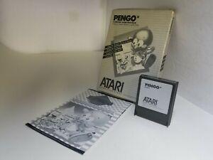 PENGO CARTRIDGE FOR ATARI 400/800 XE XL COMPLETE WITH BOX & MANUAL CIB A34