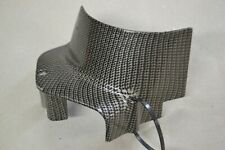 Honda CB750 SOHC .. Carbon Fiber Looking Engine Sprocket Cover ....Cafe, Chopper