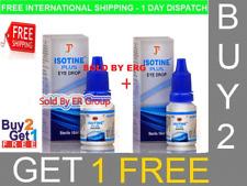 ISOTINE PLUS EYE DROPS BEST TREATMENT CATARACT,MYOPIA AND HYPERMETROPIA 10 ml