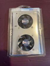 More details for hard disk cooler fans