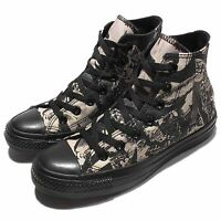Converse Chuck Taylor All Star Print Black Beige Women Sneakers Shoes 549640C