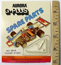 2pc Aurora AFX G+ G-PLUS Tune Up PICK UP SHOES Rare Original Equipment 8845 A++