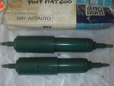 COPPIA AMMORTIZZATORI POST.FIAT 600 1955-1971 COD.FIAT 4048310
