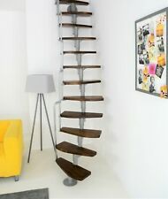 1 x extending  element  for Space Saving Curved Staircase Minka Monaco Walnuss