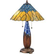 Meyda Lighting 24.5'H Cristal Azul Table Lamp - 139610