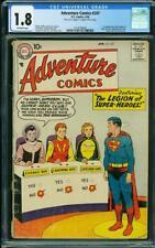 Adventure Comics #247 CGC 1.8 DC 1958 1st Legion of Superheroes! Key! L8 211 cm
