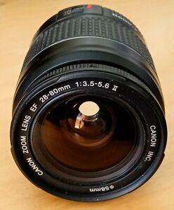 Canon EF 28-80mm F/3.5-5.6 II EF Mount Zoom/Macro Lens