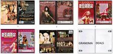 Lot of 5 Asian Cinema Erotic DVD Delinquent Girl Boss Kekko Kamen Lust Caution N