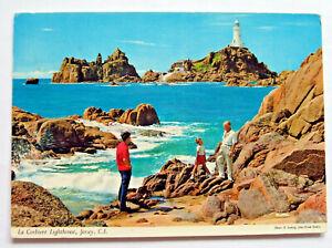 Postcard - LA CORBIERE LIGHTHOUSE, JERSEY, CHANNEL ISLANDS - 1984 - (JER2-18)