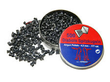 DIABOLO SPITZKUGELN Solid Pointed Pellets 4.5 mm .177 ( 500 pcs )
