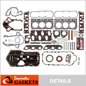 Fits 95-02 Chevrolet Camaro Pontiac 3.8L OHV 1st 2nd Design Full Gasket Set