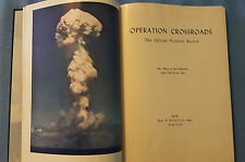 Operation Crossroads Official Pictorial Record 1946 World War 2 Atom Bomb Test