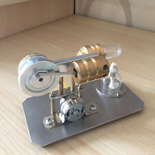 Mini Hot Air Stirling Engine Model Toy Micro Electricity Generator Motor Engine