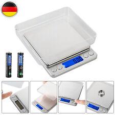 500g/0,01g Edelstahl Digital Küchenwaage Haushaltswage Präzisionwaage Feinwage