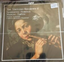 The Virtuoso Recorder 2 ovp 409 sammartini fiorenza mancini